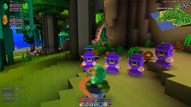 Rollenspiel Cube World: Magier © Picroma
