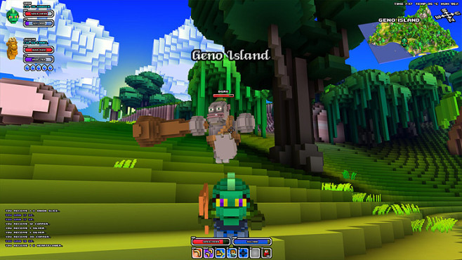 Rollenspiel Cube World: Oger © Picroma