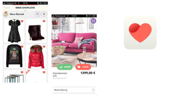 ShopLove — Shopping & Kataloge © The Visual Shopping Company