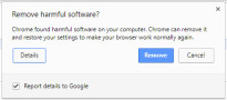 Chrome Cleanup in Google Chrome © Google