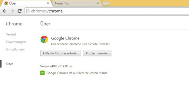 Google Chrome 40 © COMPUTER BILD