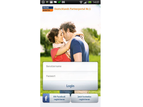FriendScout24-App f�r iOS © FriendScout24