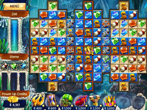 Screenshot Jewel Legends – Atlantis © Intenium