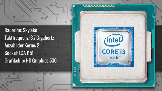 Intel Core i3-6100 © ecrow - Fotolia.com, Intel