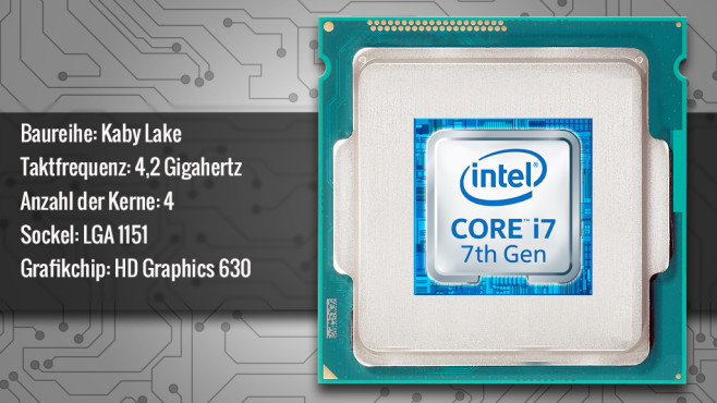 Intel Core i7-7700K (Kaby Lake) © ecrow - Fotolia.com, Intel