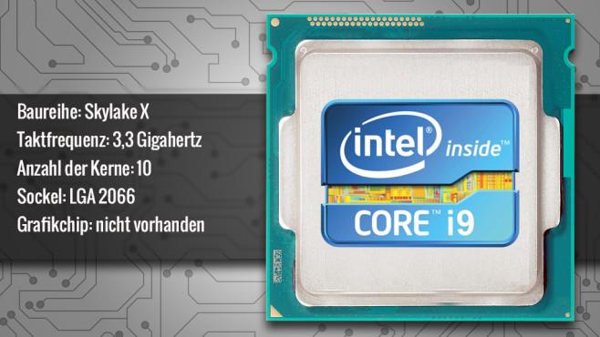 Intel Core i9-7900X (Skylake X) ©ecrow - Fotolia.com, Intel