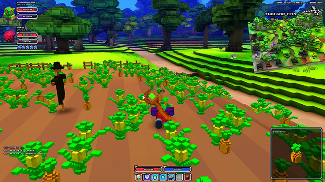 Rollenspiel Cube World: Ananas © Picroma