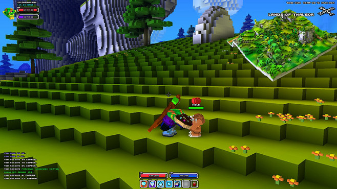 Rollenspiel Cube World: Tier © Picroma