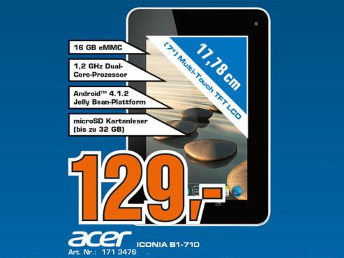 Acer Iconia B1-710 ©Saturn