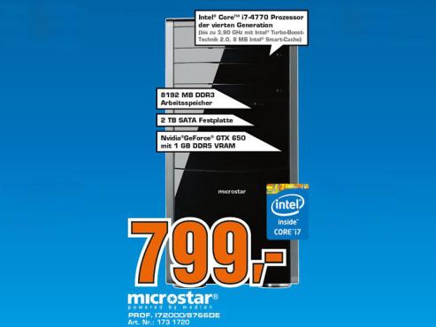 Microstar Professional I72000 / 8254 DE ©Saturn
