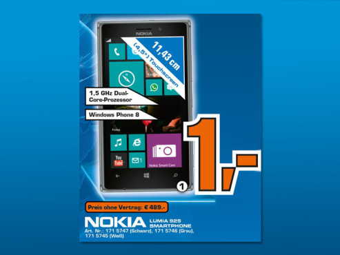 Nokia Lumia 925 16GB © Saturn