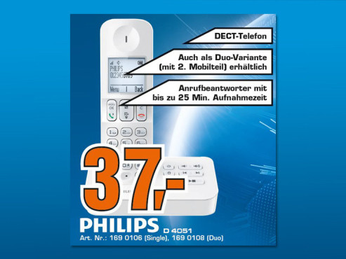Philips D405 Solo © Saturn