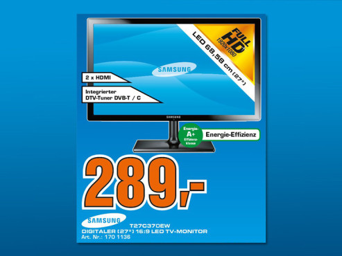 Samsung T27C370EW ©Saturn