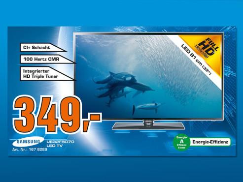 Samsung UE32F5070 ©Saturn