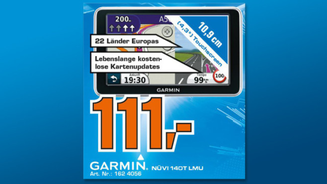 Garmin nüvi 140T © Saturn