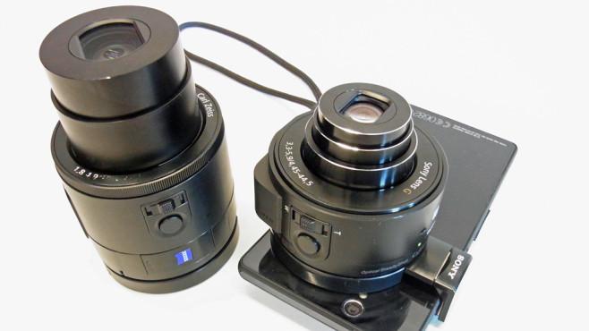 Sony DSC-QX10, Sony DSC-QX100 ©COMPUTER BILD