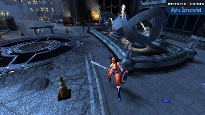 Online-Actionspiel Infinite Crisis: Wonderwoman © Warner Bros. Games