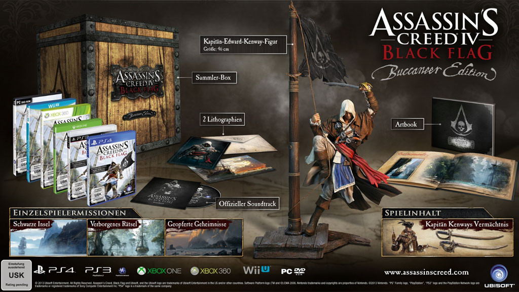 Assassin S Creed 4 Black Flag Buccaneer Edition Im