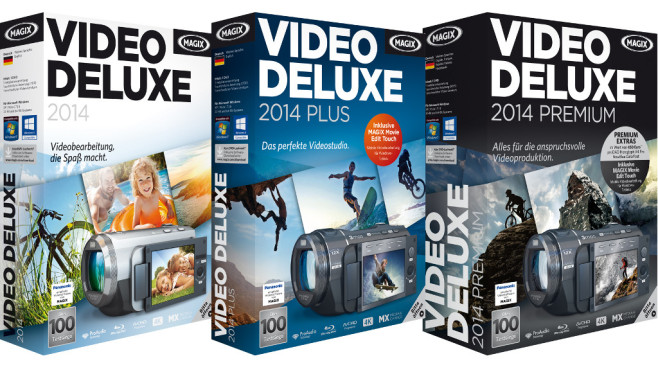 Magix Video Deluxe 2014 ©Magix