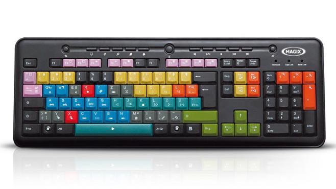 Magix Videoschnitt-Tastatur ©Magix