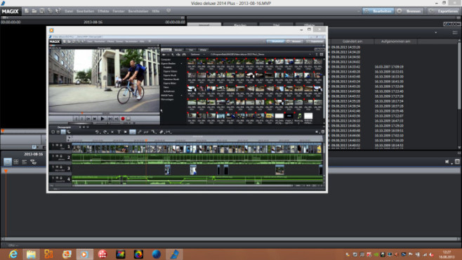 Magix Video Deluxe 2014 Plus © Magix / Screenshot: COMPUTER BILD