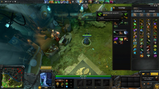 Dota 2: Slippers of Agility © Valve