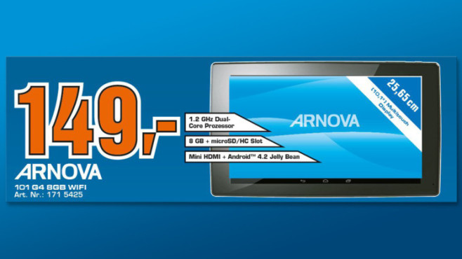 Arnova 101 G4 8GB Wifi © Saturn