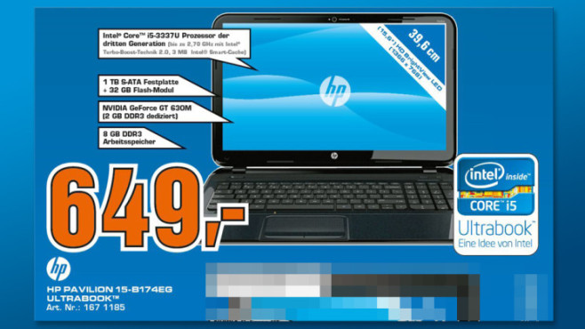 Hewlett-Packard HP Pavilion 15-b174eg © Saturn