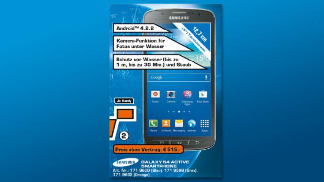 Samsung Galaxy S4 Active ©Saturn