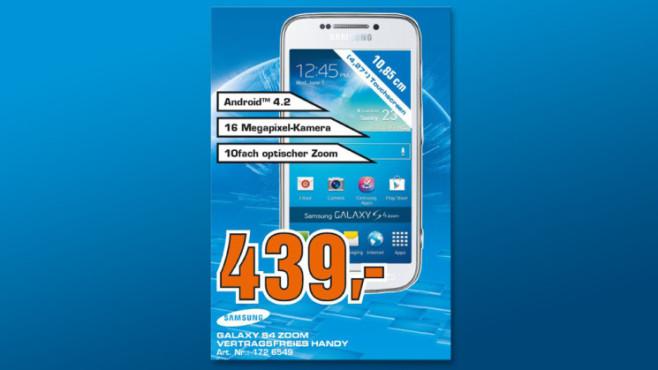 Samsung Galaxy S4 Zoom ©Saturn