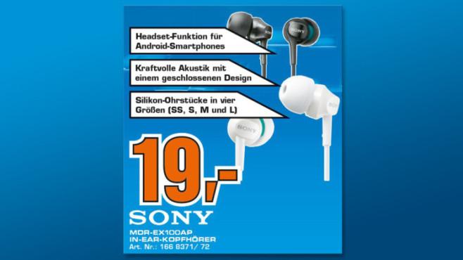 Sony MDR-EX100 ©Saturn