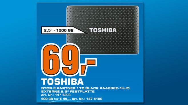 Toshiba Stor.E Partner 1TB schwarz ©Saturn