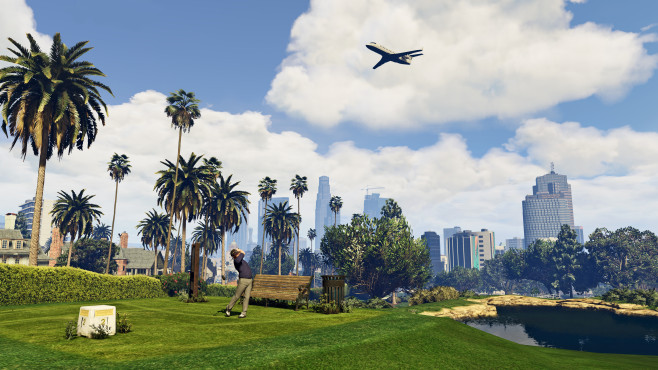 GTA 5: Golf © Rockstar Games