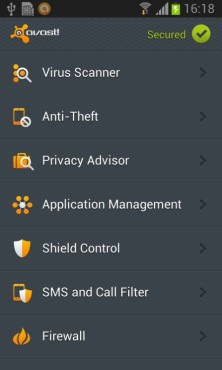 avast! Mobile Security © Avast; AV Comparatives