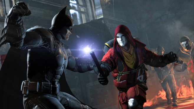 Actionspiel Batman � Arkham Origins: Batman Anarky Faceoff © Warner Bros. Interactive