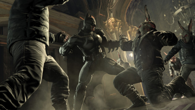 Actionspiel Batman – Arkham Origins: Rabbit Fight © Warner Bros. Interactive