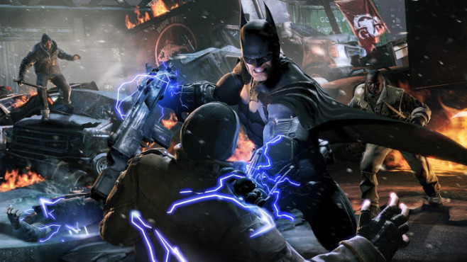 Actionspiel Batman – Arkham Origins: Shock Gloves © Warner Bros. Interactive