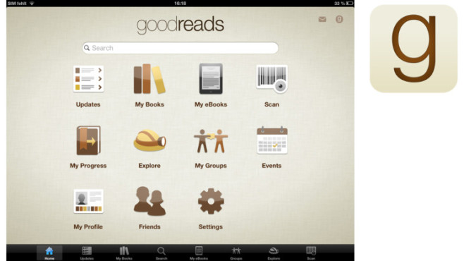 Goodreads © Goordreads Inc.