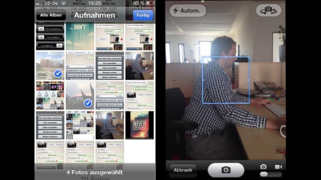 Schritt 2.1: Fotoalbum und Schnappschuss ©COMPUTER BILD