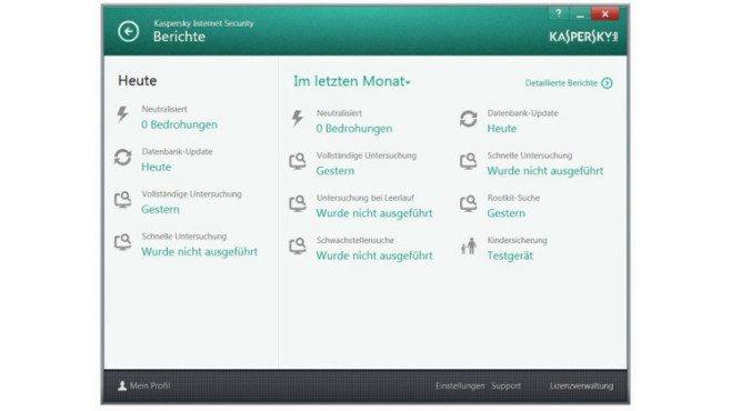 Kaspersky Internet Security 2014 © Kaspersky