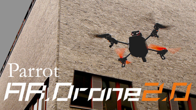Parrot AR.Drone 2.0 im Flug ©COMPUTER BILD, Parrot
