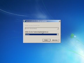Systemreparaturdatenträger (Windows 7, 64 Bit)