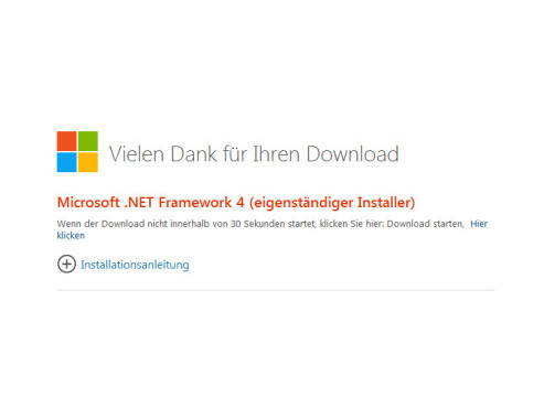 Microsoft .NET Framework 4.0 ©COMPUTER BILD