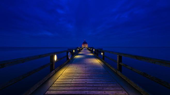 Blaue Stunde – von: friedop ©friedop