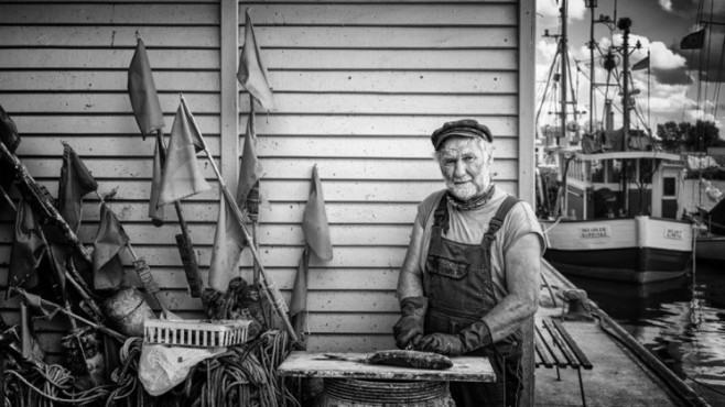 Der Fischer – von: helgenug ©helgenug
