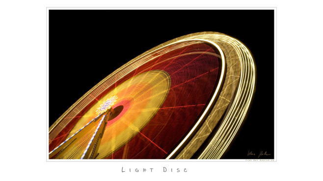 Light Disc – von: FineArtMunich © FineArtMunich