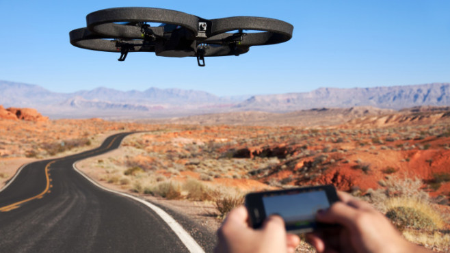 AR.Drone 2.0: Absolute Control-Modus © Parrot