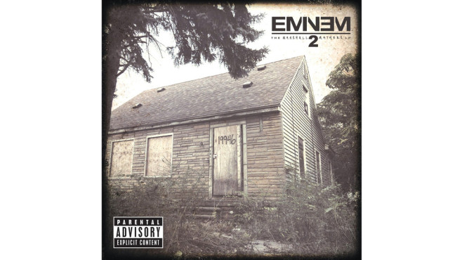 Eminem – The Marshall Mathers LP 2 © Interscope (Universal)