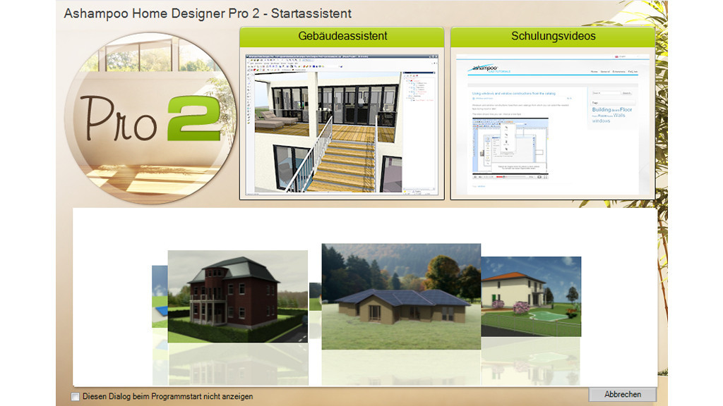 Neue architektur software ashampoo home designer pro 2 for Architektur software