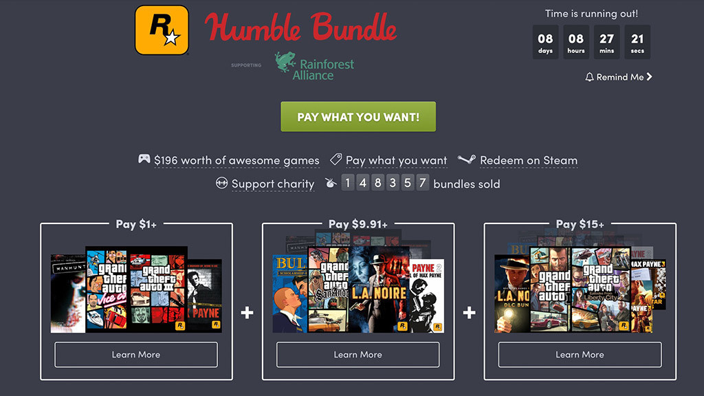 humble bundle rockstar klassiker zum kleinen preis computer bild spiele. Black Bedroom Furniture Sets. Home Design Ideas